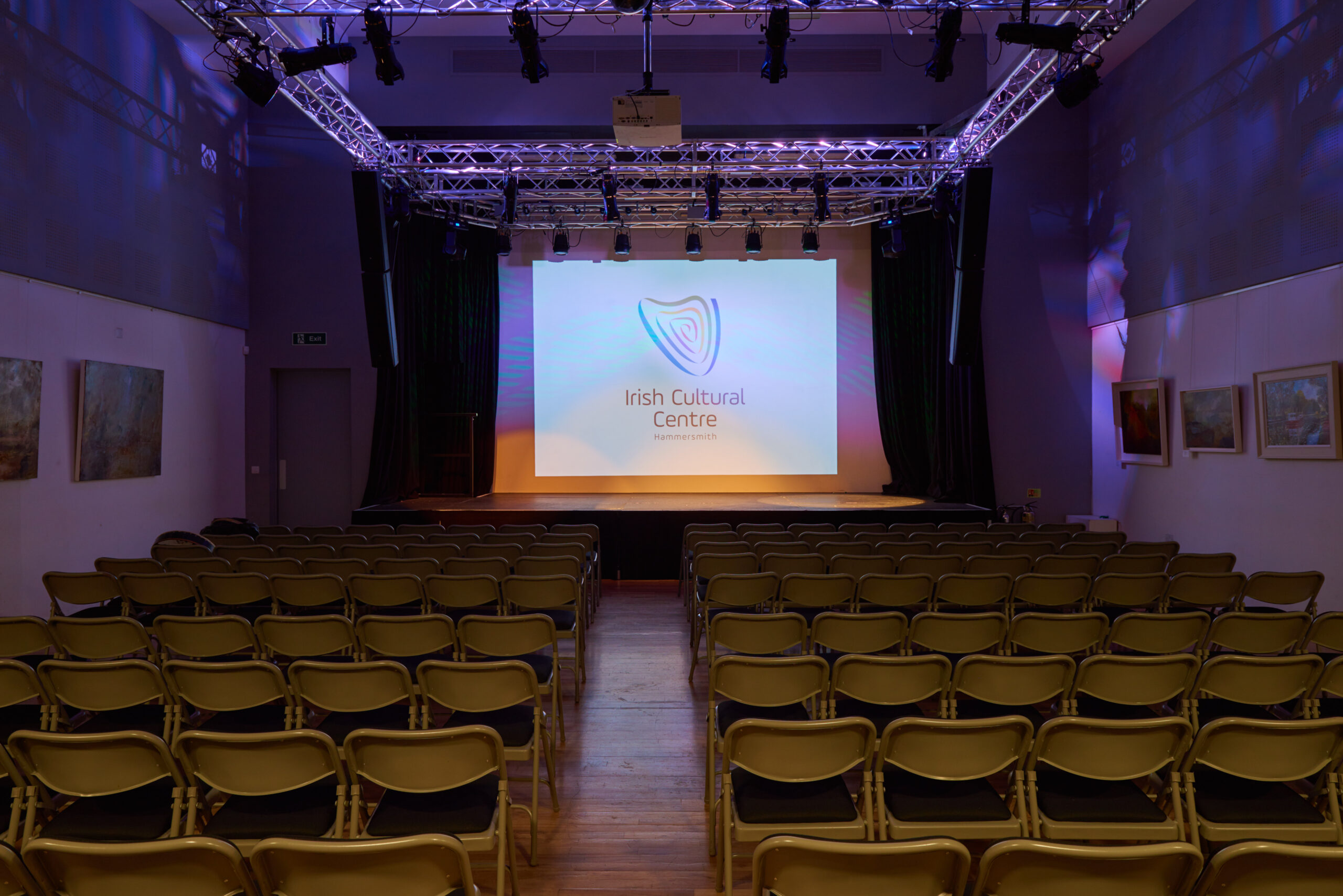 Irish Cultural Centre sponsorship meeting hall.